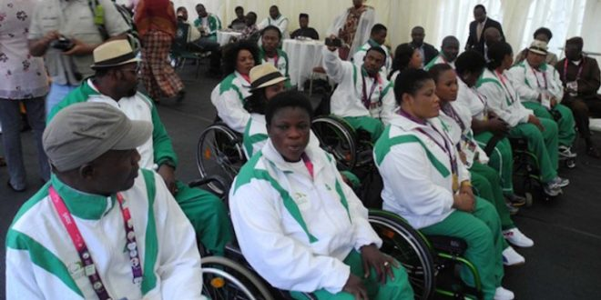 TEAM NIGERIA LISTS 23 ATHLETES FOR RIO PARALYMPICS
