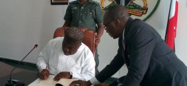Governor Ugwuanyi signs N103.5 billion 2018 Budget into Law