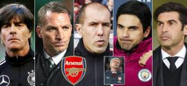 Five man shortlist to replace Arsene Wenger